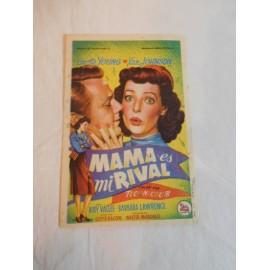 Programa de cine. Mama es mi rival. Publicidad Gran Terraza Imperio.