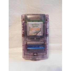 Game boy color transparente incluye juego El Libro de la Selva
