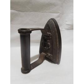 Plancha hierro forja con símbolos