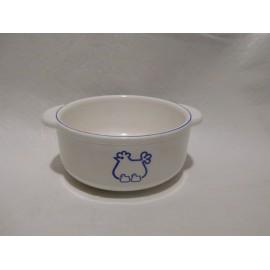 Cacerola cacerolita en plástico regalo promocional premium.  Gallina Blanca años 80