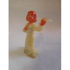 Antigua figura de querubín o ángel. Posiblemente de Bautizo. Años 50-60.