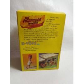 Caja con figuras de Los Picapiedras Wilma de D toys años 80