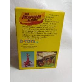 Caja con figuras de los Picapiedras Dino de D toys años 80 muy dificil