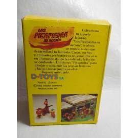Caja con figuras de Los Picapiedras Pebbles & Bamm Bamm de D toys años 80 muy dificiles