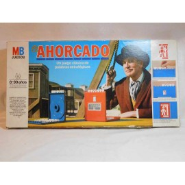 Juego de El Ahorcado MB. Años 80. Completo. El original.