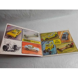 Catalogo miniaturas de coches Corgi 1971-1972.