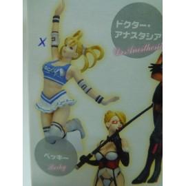 Figura manga anime serie Rumble Roses de Konami de Becky