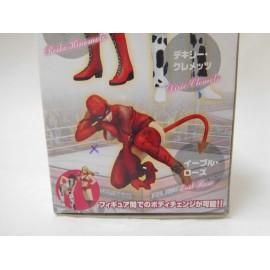 Figura manga anime serie Rumble Roses de Konami de Evil Rose nueva sin abrir