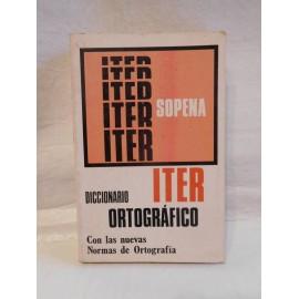 Diccionario Ortográfico Iter Sopena. Año 1978.