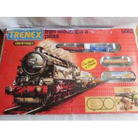 Tren eléctrico a pilas. Trenex Ibertren ref. 5062 en caja.