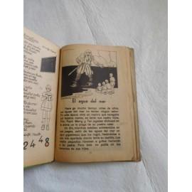 Libro de texto letras primer libro de lectura corriente. Aldolfo Maillo. 10º edición. 1939.