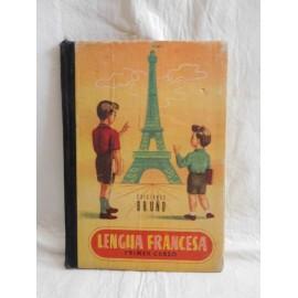 Libro de texto lengua francesa. Primer curso. Ed. Bruño. 10º edición.