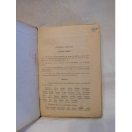 Libro de texto lengua francesa. Primer curso. Ed. Bruño.