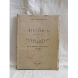 Libro Historia desapasionada del Athletic (hoy club atlético de madrid). Ed. Perman. 1948. Único.