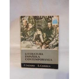 Libro de texto literatura española contemporanea. Anaya. 1968