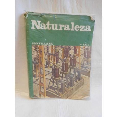 Libro de texto ciencias naturales. 7º EGB. Ed. Santillana. 1981