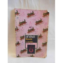 Libro de texto ciencias sociales boveda 8º EGB. Ed. Anaya. 1984