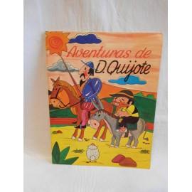 Cuento las aventuras de don quijote. Serie lecturas. Ed. Europa-ediexport. 1981
