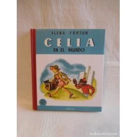 Libro reedicion Celia en el mundo. Elena fortun. Ed. Santillana, aguilar. 2004