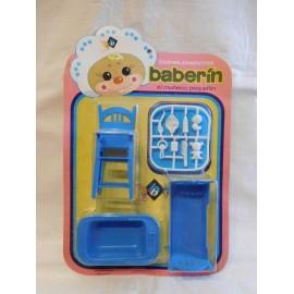 Blister Muñeco Baberin, muñecas BB. Años 70.