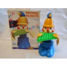 Payaso Musical Toyse. Años 80. Nuevo.