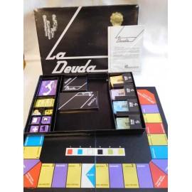 Juego de mesa La Deuda. Años 80. El juego sobre el petroleo. Premio Caracas. Tipo Nac.