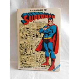 Libro tebeo La Historia de Superman. Novaro. 1979.