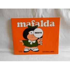Tebeo de Mafalda con contenido Inédito. Editorial Lumen. Año 2000. Curiosidad.