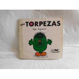Tebeo cuento Don Torpezas. Colección Los Señordones. Ed. Novaro. 1976. Roger Hargreaves.