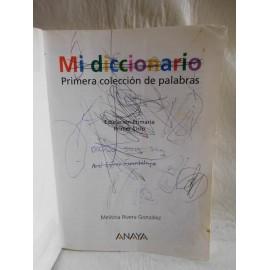Libro de Texto, Mi diccionario. Ed. Anaya. 1992.