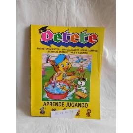 Retapado Petete incluye nº del 1 al 7. Años 80.