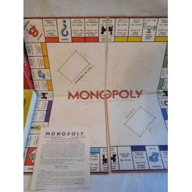 Monopoly original Borras años 60. De los primeros que se editaron en España. Con caja amarilla.