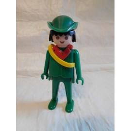 Antigua figura de Famobil Playmobil de Robin Hood.