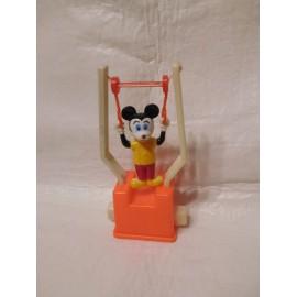 Juguete saltinbanquin de kiosko años 70 de Mickey. Funcionando.
