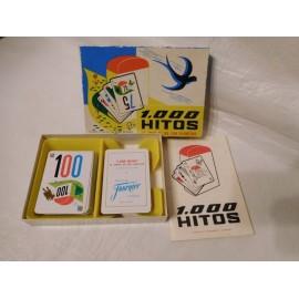 Juego de cartas ed. Fournier año 1968 1000 hitos, el juego de los 1000 km. En caja con instrucciones