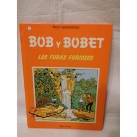 Bob y Bobet. Los Furax Furiosos. Ed. Plaza Joven. nº1. 1989. Primera edición.