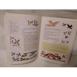 Libro Lecturas comentadas Edelvives 4º EGB. Año 1982. Primera edición.