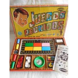 Juegos reunidos Geyper. 25 Juegos. Completo. Años 70.