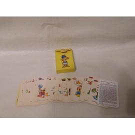 Barajas de cartas Vikie el Vikingo de Ediciones Recreativas. Años 70. Completo y en buen estado.