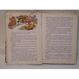 Libro Lecturas SM Fantasía. Año 1967. Libro de lecturas ilustrado.