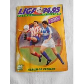 Álbum de cromos futbol liga 94-95. Editorial Este.