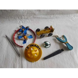 Lote juguetitos de Kiosko nuevos nunca usados. Años 70.