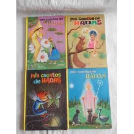 Lote de cuatro cuentos mis cuentos de hadas, ed. Vascoamericana
