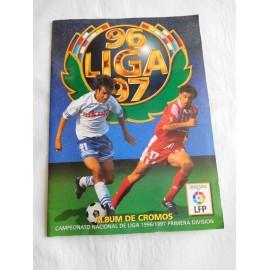 Álbum de cromos fútbol liga 96-97. Editorial Este.