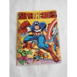 Album Superheroes ed. Fher años 80