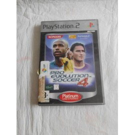 Juego PS2 Pro Evolution soccer 4