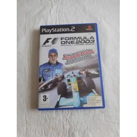 Juego PS2 Formula One 2003