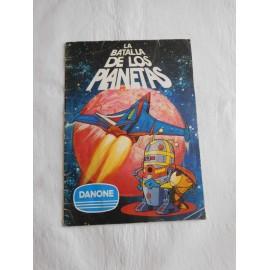 Album de cromos La Batalla de los Planetas de Danone