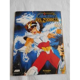 Álbum de cromos Los Caballeros del Zodiaco Ed. Aston años 90