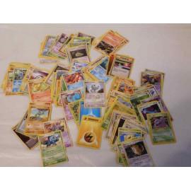 Lote de 116 cartas Pokemon. Antiguas. Bien conservadas.